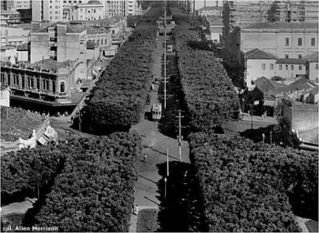 Rua da Bahia em 1910